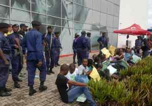 Des dizaines des membres de la LUCHA blessés lors d'une manifestation  à Goma