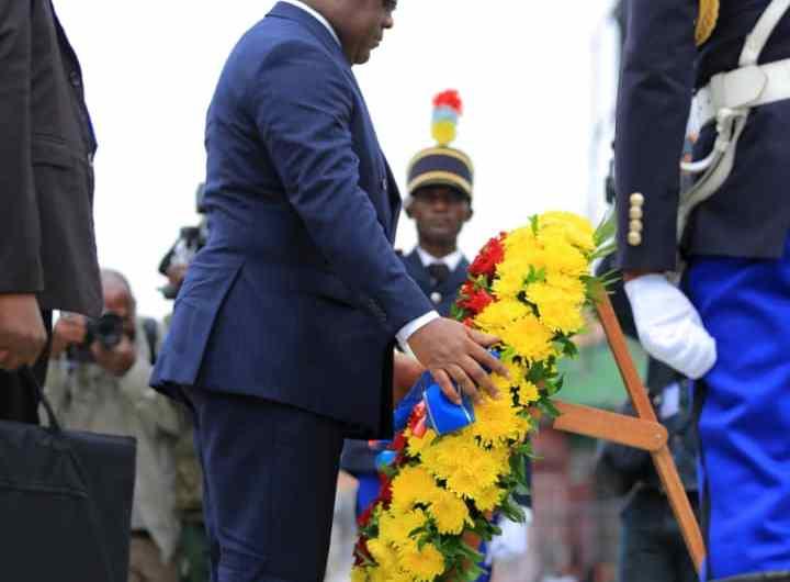 17 mai: les hommages de F. Tshisekedi aux FARDC