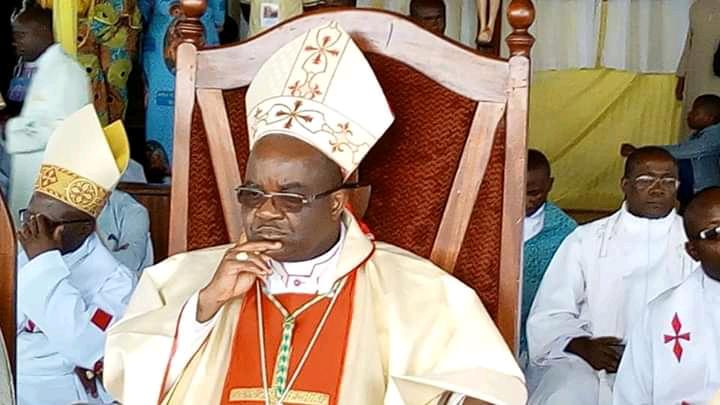 """Nord-Kivu : """"Les groupes armés sont instrumentalisés à partir de Kinshasa ! """"( Mgr Willy Ngumbi Ngelengele, nouvel évêque de Goma)"""