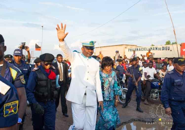 RDC/Kasaï central : 8 ministres nommés, une femme !