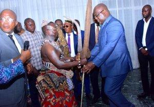 RDC: les Anamongo chez F. Tshisekedi