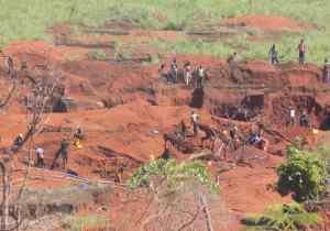 RDC/ Haut Uele : Des orpailleurs morts dans un éboulement à Dubele