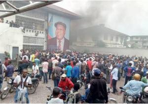 """UDPS : """"bagarre"""" entre pro et anti Kabund, intervention de la police au siège du parti !"""