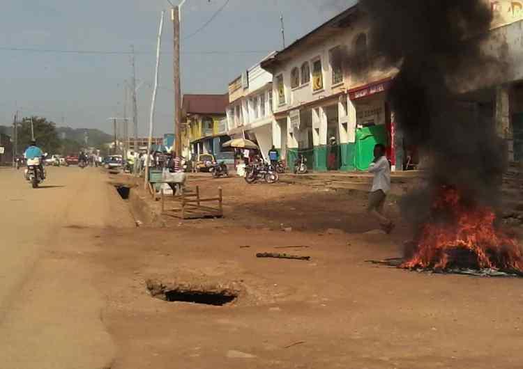 RDC/Beni: paralysie des activités après la mort d'une dizaine de civils attribuée aux ADF