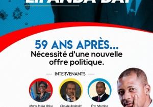 RDC : 59 ans d'indépendance, le collectif RDC+ réfléchit sur la nécessité d'une nouvelle offre politique