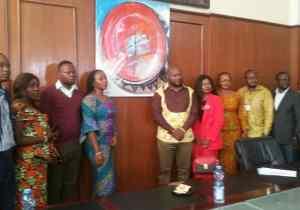 RDC : le Collectif des Artistes et Culturels présenté à la commissaire générale de la culture et arts ville de Kinshasa