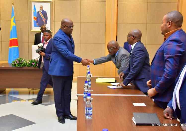 Felix tshisekedi a échangé avec une délégation des élus du Nord-Kivu sur l'Ebola et l'insécurité