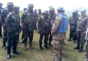 Uvira: le Général Amisi Tango Four boucle sa tournée et remplace le commandant FARDC