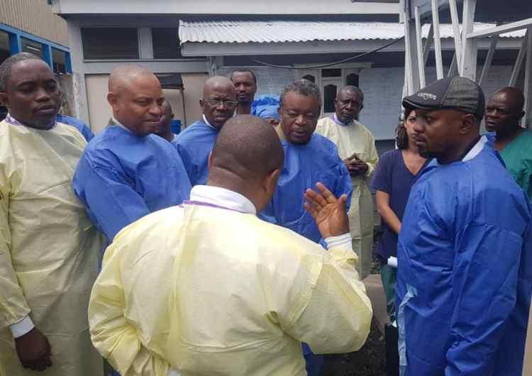 Ebola : l'équipe Muyembe ce lundi à Beni