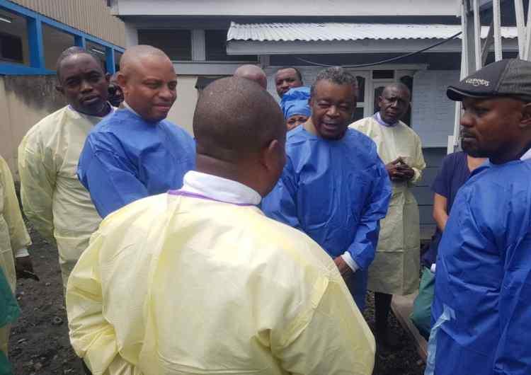 Ebola : la situation de la femme et de la fille de l'orpailleur décédé se stabilise