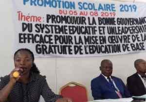 EPSP/Kwango 1 : la conférence de la promotion scolaire 2019 se tient à Kenge