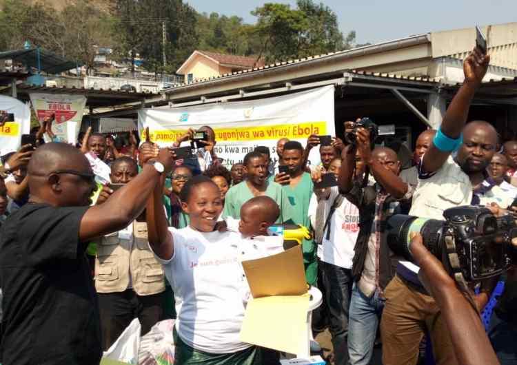 Nord-Kivu : Goma célèbre la guérison des deux premiers cas d'Ebola