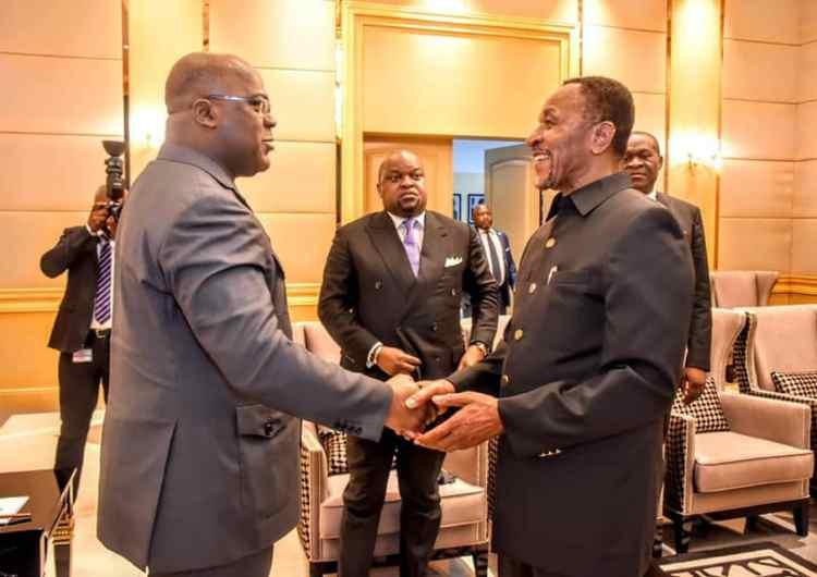 Le président de la République Félix Tshisekedi a reçu une délégation du conseil de la Banque Mondiale