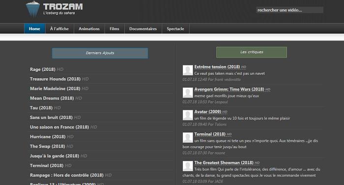 Trozam Streaming