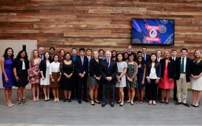 Congressman Lance Hosts New Jersey Congressional Award Ceremony
