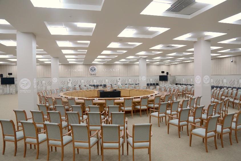 Конгресс холл - Большой конференц зал, 670 м2