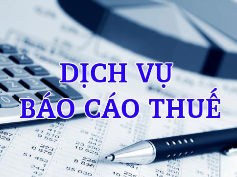 Báo cáo thuế tại Thuận An Bình Dương