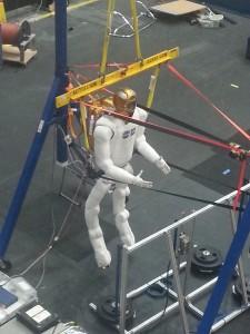 Not a robot, a spaceport.