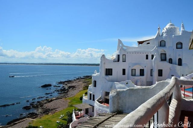 Casapueblo, Punta Ballena - Uruguai.