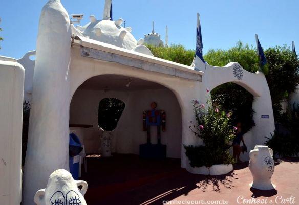 Entrada para o Museu da Casapueblo.
