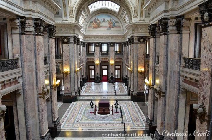 Palácio Legislativo de Montevidéu – Salão dos Passos Perdido