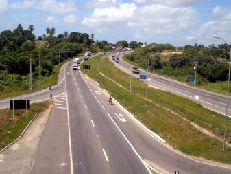 BR 101 entre Natal-RN e João Pessoa-PB
