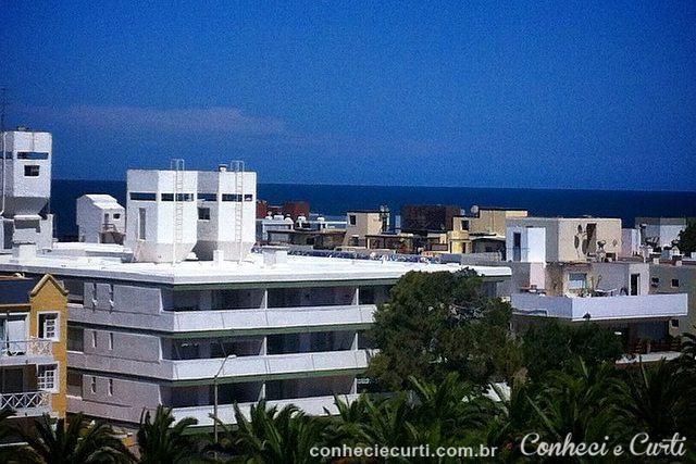 A vista do terraço do nosso apto em Punta del Este.