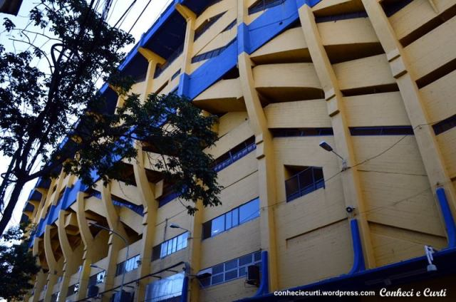 Estádio do Boca Junior.