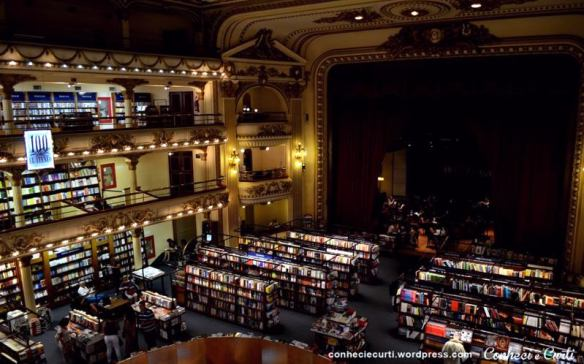 Livraria Ateneo em Buenos Aires