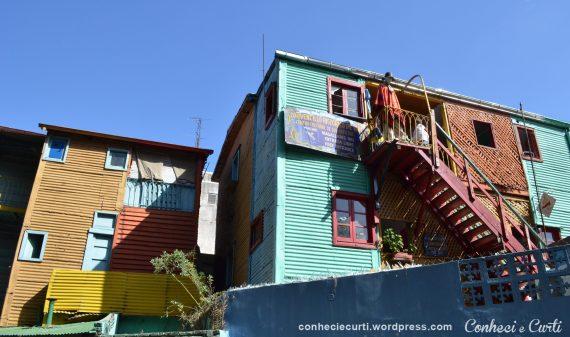 La Boca e o Caminito em Buenos Aires