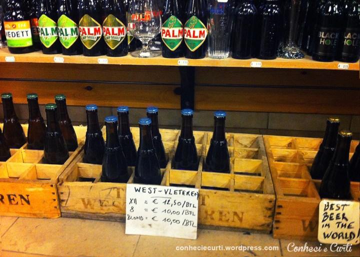 Com tudo isso de cerveja Westvleteren pra vender, quem não ia gostar de vocês, moço?