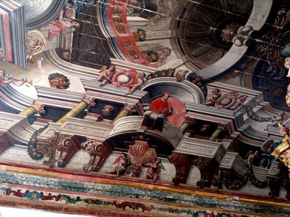 Teto da Sala do Coro da Igreja de São Francisco em João Pessoa.
