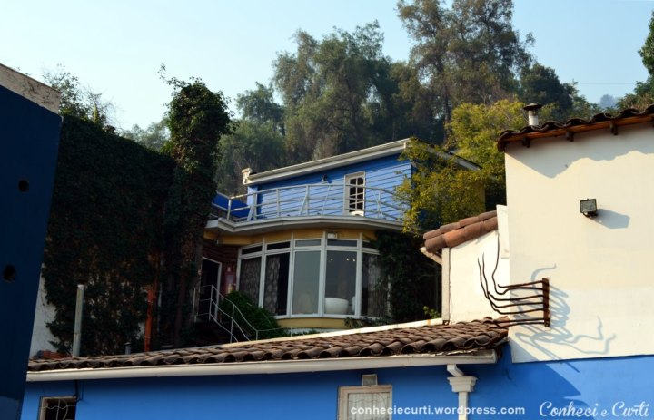 La Chascona, casa-museu de Pablo Neruda