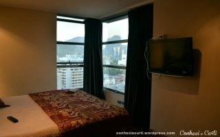 Santiago, Chile - Um dos quarto do flat.