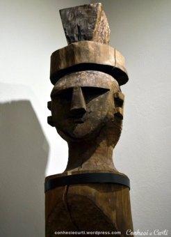 Museu Nacional em Santiago, Chile. Povos originários