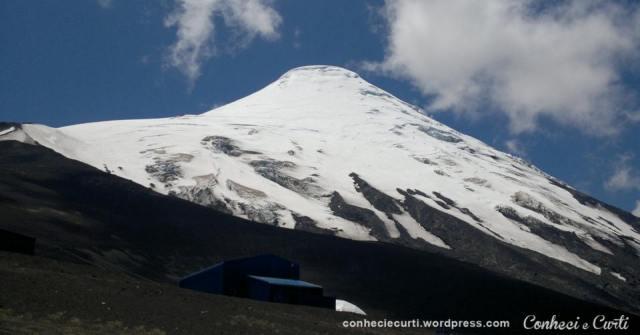 Volcan Osorno Chile - verão de 2016