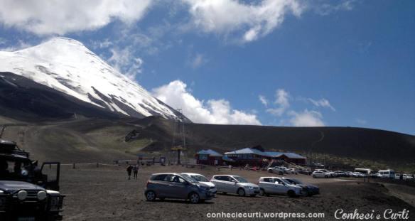 Volcan Osorno estacionamento