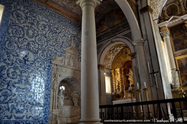 Interior da Igreja de Santa Maria - Óbidos.