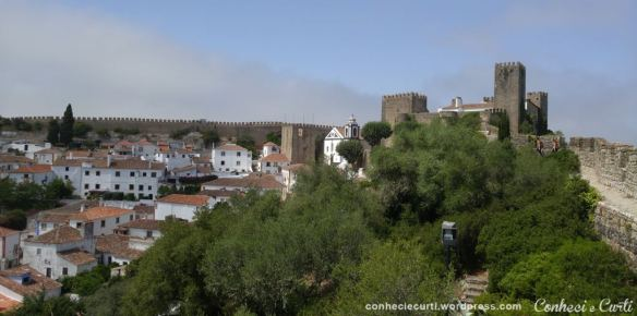 Muralhas e Castelo da Vila de Óbidos, Portugal