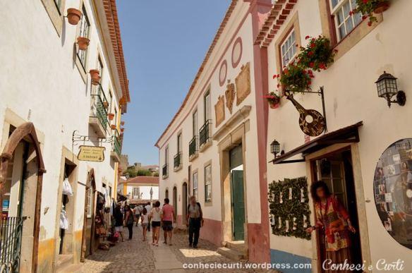 Rua Direita, Óbidos - Portugal.