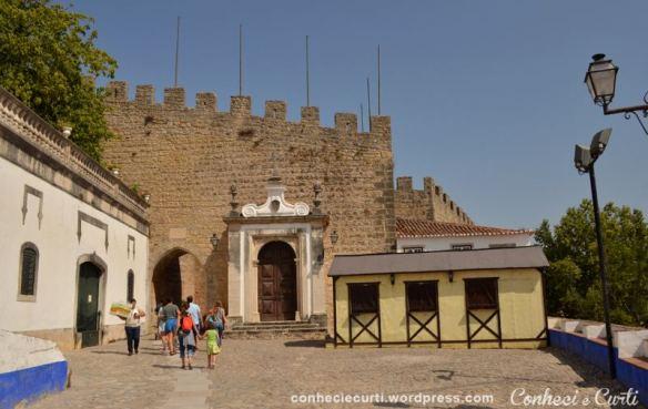 Porta da Vila de Óbidos, Portugal