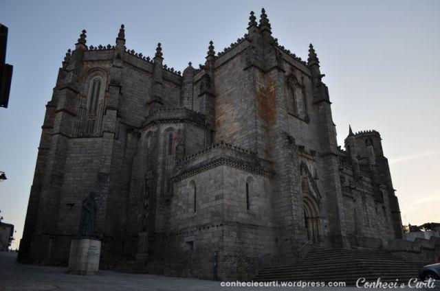 Sé-Catedral da Guarda em Guarda, Portugal.