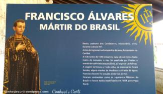 Francisco Álvares, Mártir do Brasil,