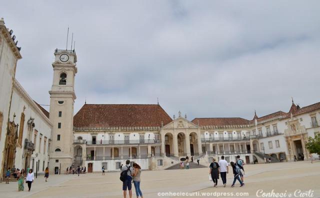 Universidade de Coimbra, Paço das Escolas.