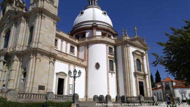Santuário de Nossa Senhora da Conceição do Sameiro, Braga - Portugal.
