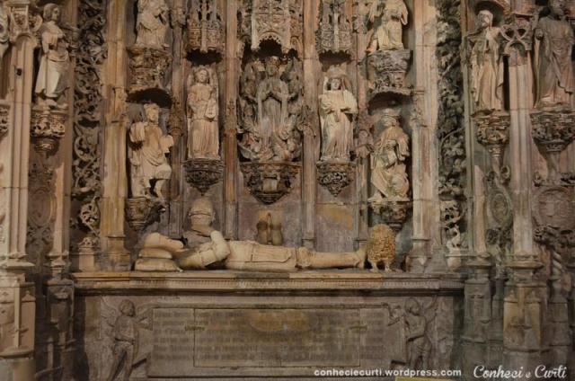 Túmulo de D. Afonso Henriques, 1º rei de Portugal.