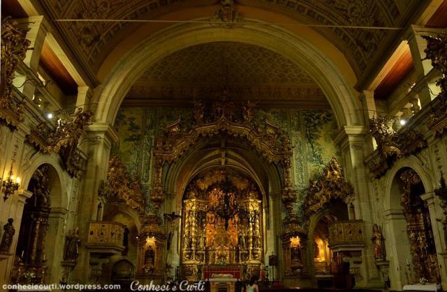 Igreja de São Francisco em Guimarães - Portugal.