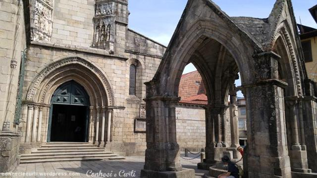 A Igreja da Oliveira e o Padrão Salado em Guimarães, Portugal.
