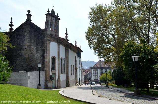 Igreja Nossa Sra do Carmo e Jardim do Carmo, Guimarães - Portugal.