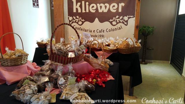 Confeitaria Kliewer em Witmarsum, Paraná.